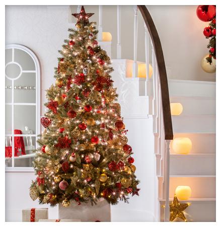 5 rboles de navidad para tu casa en venta en leroy merlin - Imagenes de arboles navidad decorados ...
