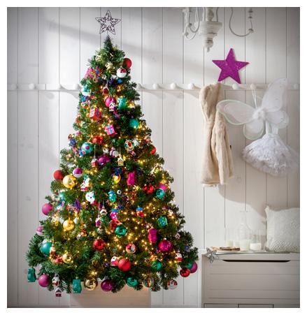 5 rboles de navidad para tu casa en venta en leroy merlin for Arbol navidad turquesa
