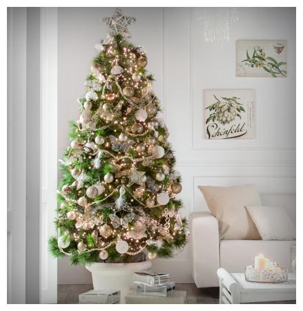 5 rboles de navidad para tu casa en venta en leroy merlin - Arboles de navidad rosa ...
