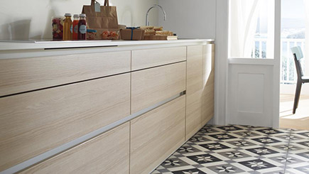 C mo dise ar una cocina home staging for Suelo cocina 2018