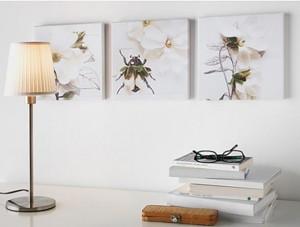 3 láminas Klövsjö 25x25cm a 15,99€ en Ikea.