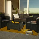 Mobiliario de jardín Leroy Merlin, súmale puntos a tu casa en venta.