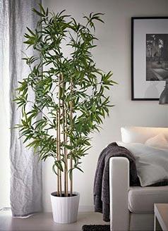 6 tips para una oficina casera perfectamente presentada - Ikea plantas artificiales ...