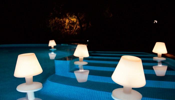 lmparas de exterior para iluminar tus noches de verano