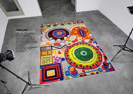 Alfombras de diseño, las inovadoras Tash-art